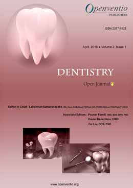 Dentistry – Open Journal (DOJ) Archives - Openventio Publishers