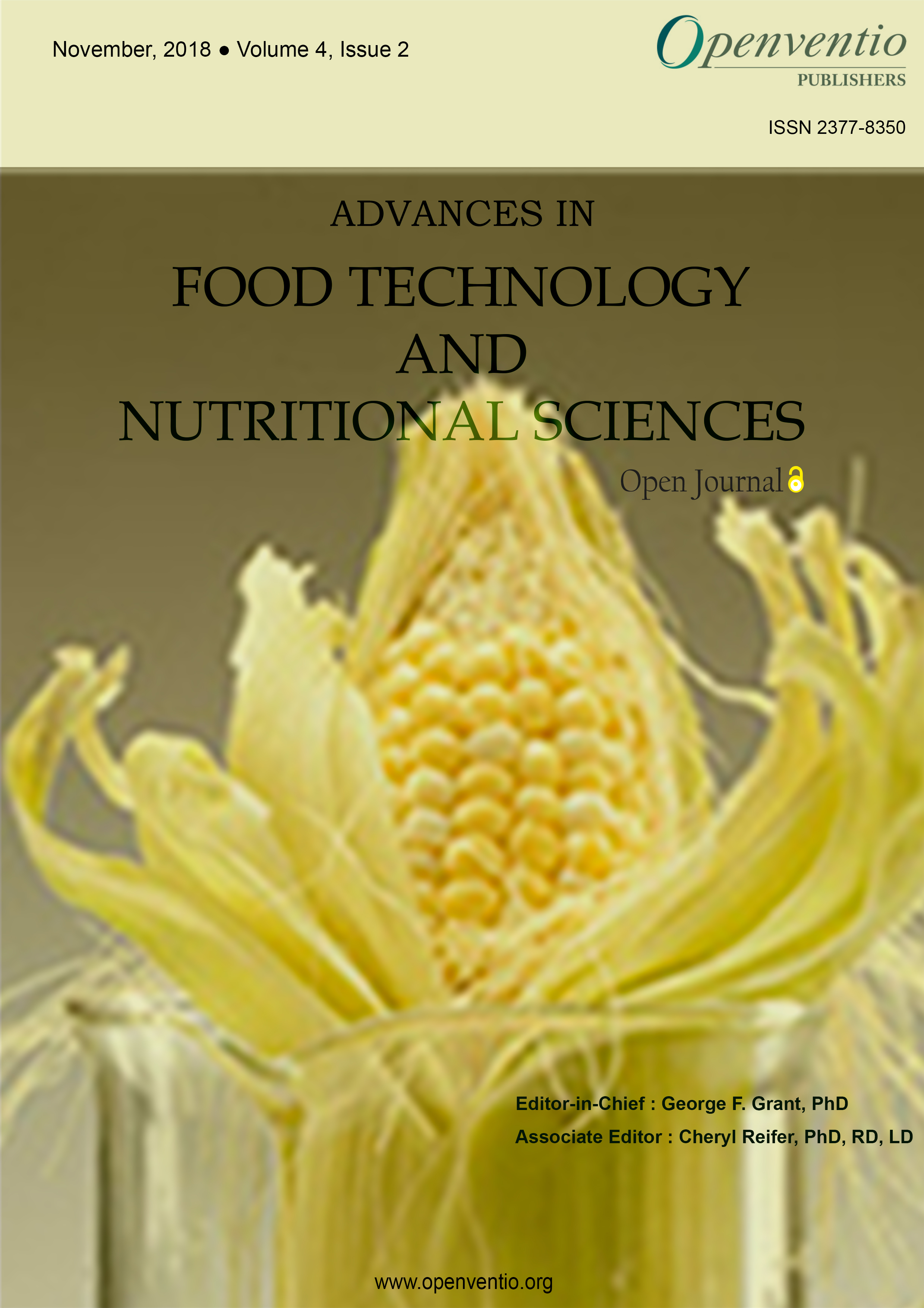 Advances In Food Technology And Nutritional Sciences Open Journal