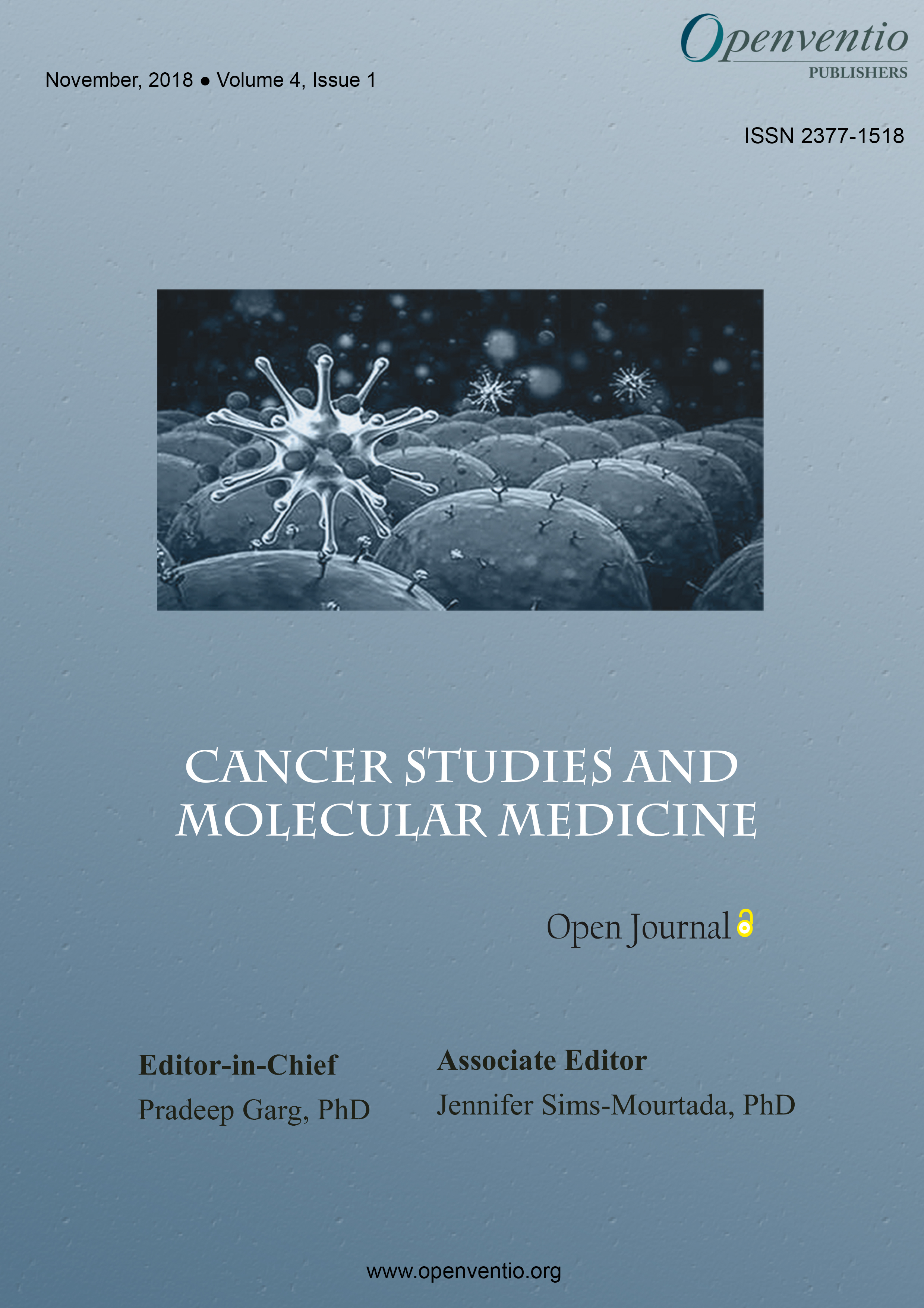 Cancer Studies and Molecular Medicine – Open Journal (CSMMOJ