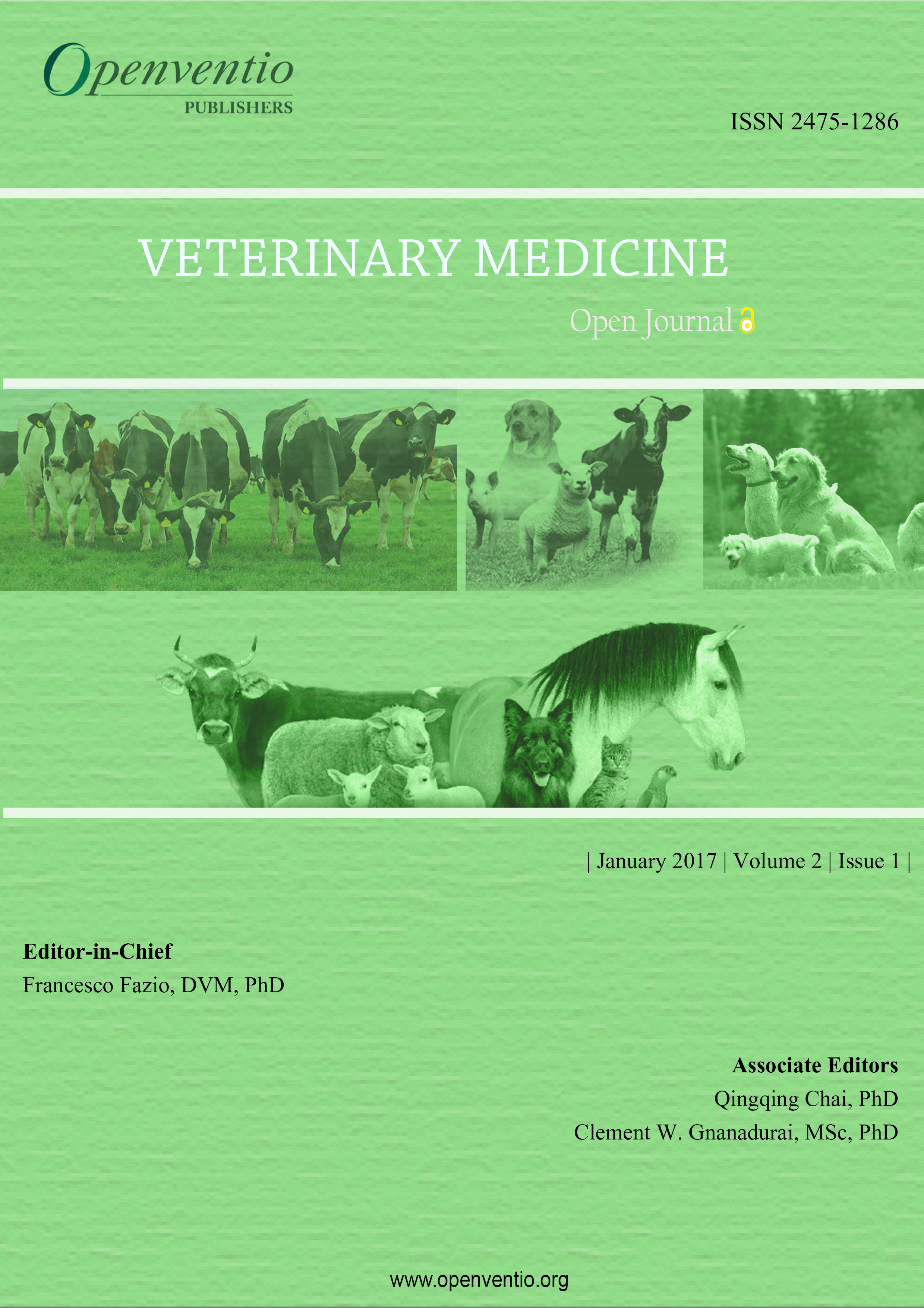 Veterinary Medicine – Open Journal (VMOJ) Archives